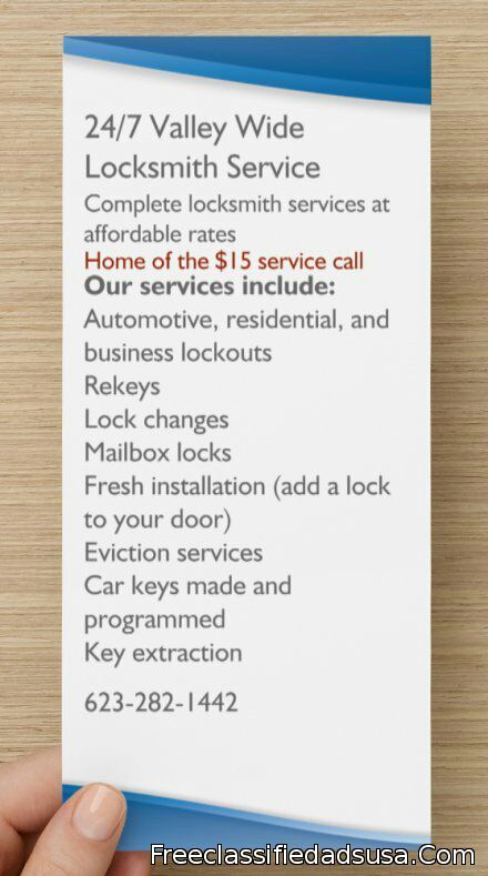 Valley Wide Locksmith Service