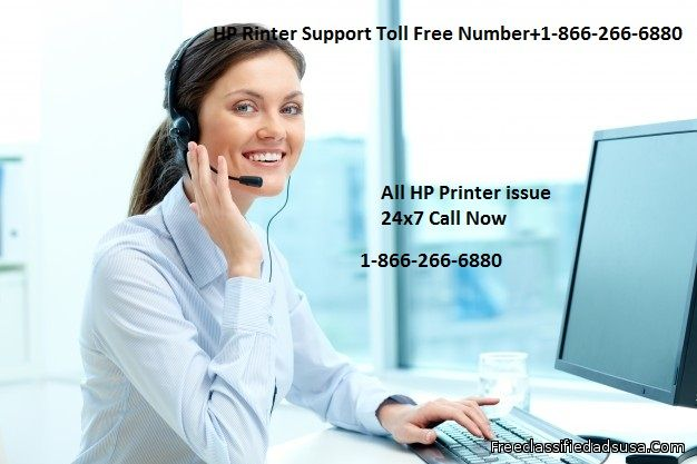 Dial for  +1-866-266-6880 HP Printer Support Toll Free Number