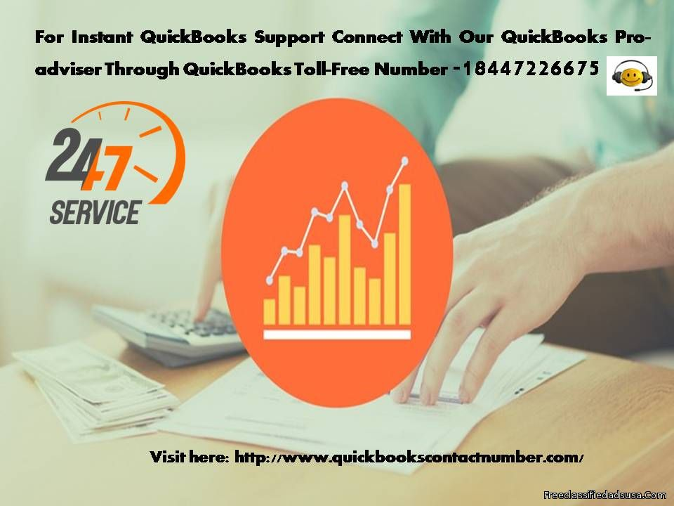 QuickBooks Technical Support Number 18447226675 QuickBooks Tollfree Number