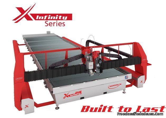 Infinity® Series Waterjet Cutting Systems from Semyx, LLC