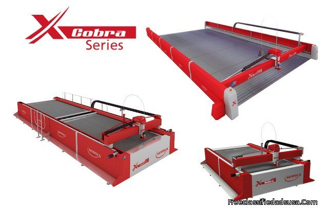 Cobra® Series Waterjet Cutting Systems from Semyx, LLC