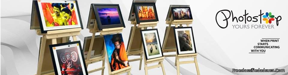 Premium Quality Canvas Prints Online - Photostop
