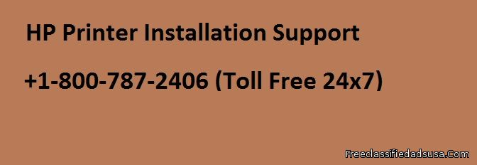 Installation Support for HP Printer +1-800-7872406