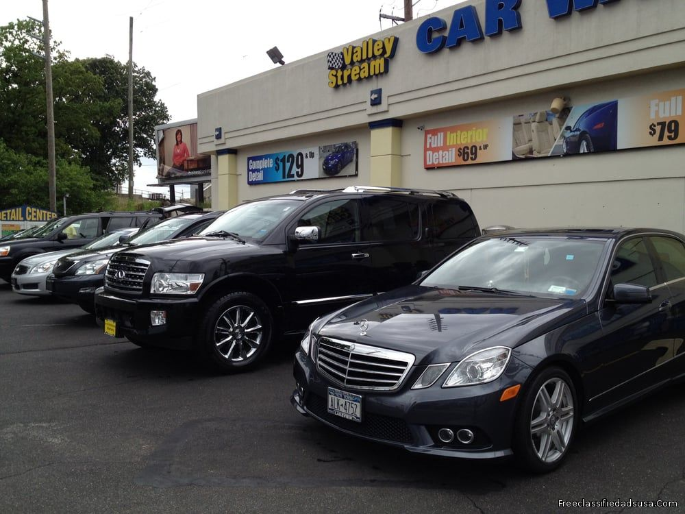 Valley Stream Car Wash & Reliable Auto Detailing Service Center NY