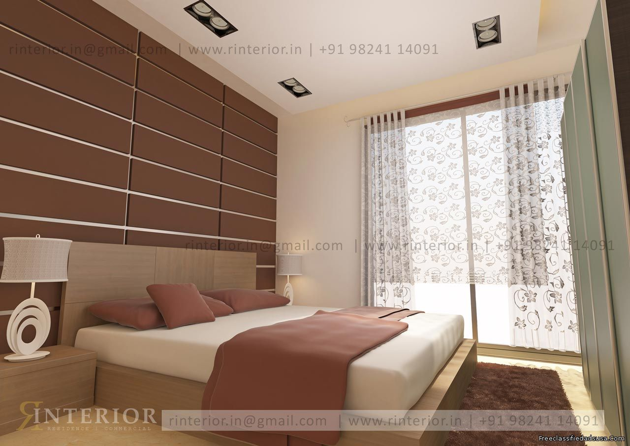 High Quality 3d interior design in India by RInterior