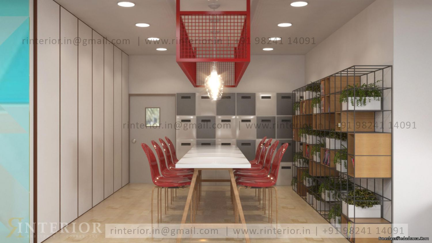 Best Decorate Office Interior in India by RInterior