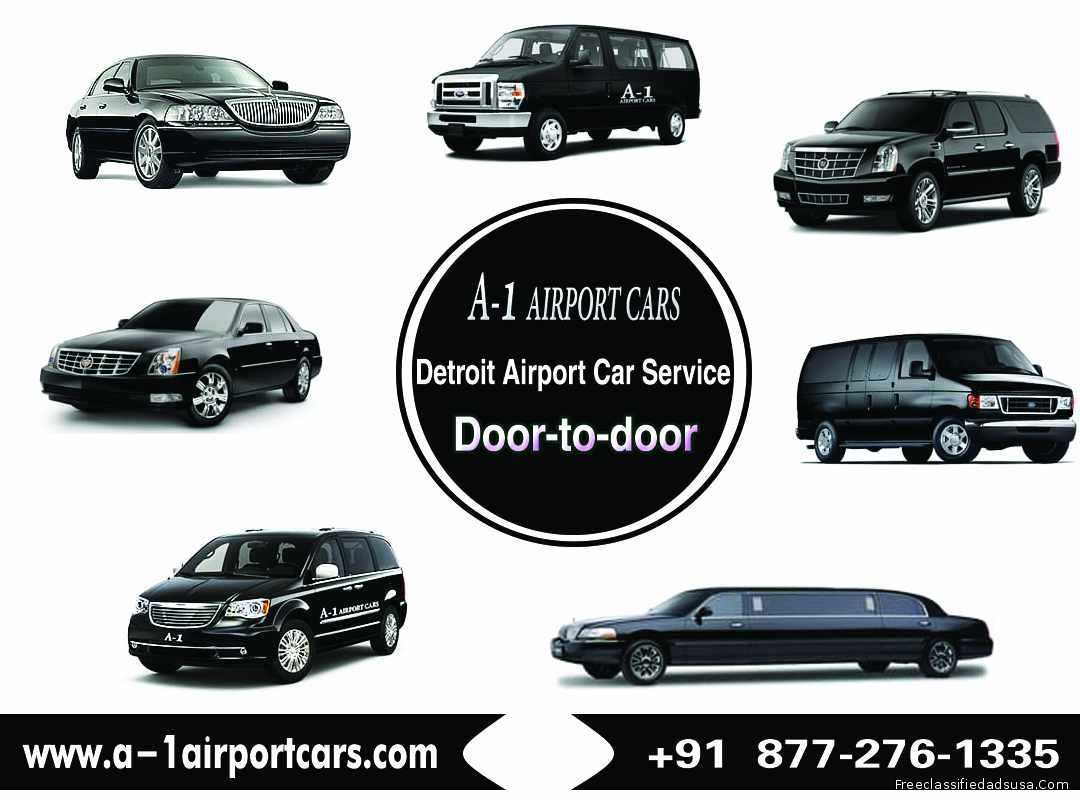 Detroit Airport Transportation - Call Now: +1 (877)-276-1335